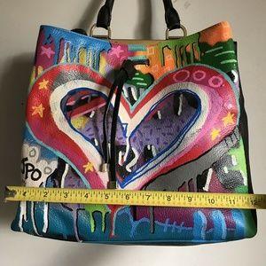"MULBERRY Bags - MULBERRY Tote W/ ""JPO"" John Paul O'Grdonick Graffi"